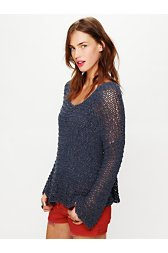 Tape Yarn Beach Sweater