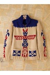 Vintage 1960s Wool Cardigan