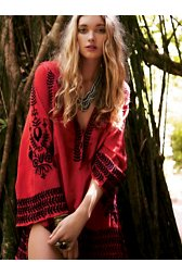 Embroidered Flora Pullover