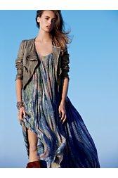 Gale Printed Shapeless Dress