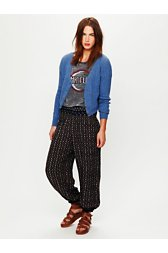 Ikat Printed Balloon Pant