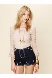 San Jacinto Embroidered Short