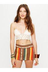 Stripe Micro Mini Skirt