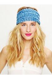 Tatty Floral Gauze Headwrap
