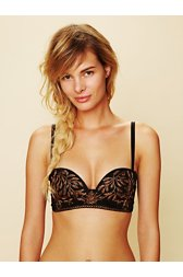 Embroidered Bra
