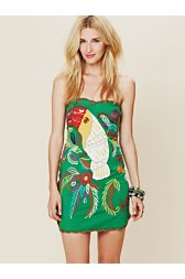 FP New Romantics Parrot Bay Tube Dress