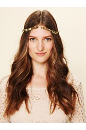 Golden Leaf Headpiece