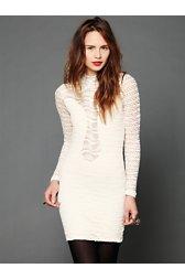 Lace Raglan Bodycon Dress