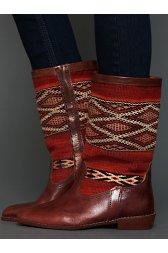 Moroccan Kilim Boot