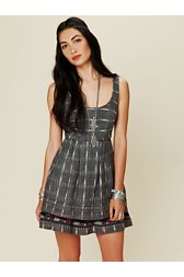 FP New Romantics Weather Vane Ikat Dress