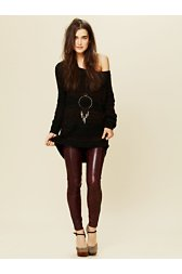 Verona Leather Skinny