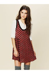 Mollys Dot Swing Dress