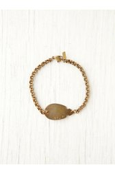 Thin Chain Arrowhead ID Bracelet