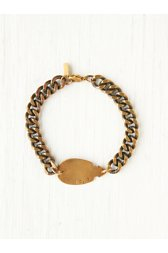 Thick Chain Arrowhead ID Bracelet