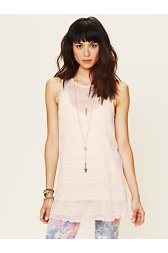 Cross Me Striped Tunic