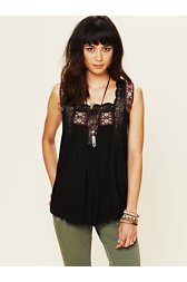 Webster Embroidered Top