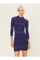 Groovy Sweater Knit Dress