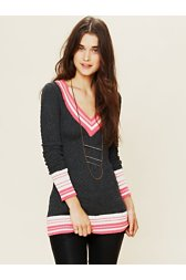 Collegiate V-Neck Tunic