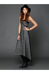Menswear Candy Maxi Dress