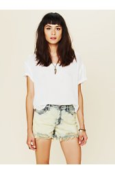 Overdyed Denim Cut Offs
