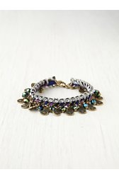 Mixed Media Sparkle Bracelet