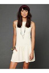 Double Knit Dropwaist Dress