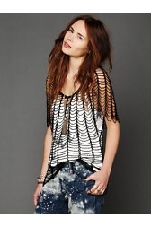 Statement Beaded Top