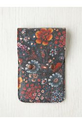 Printed Leather iPhone 4/4S Wallet