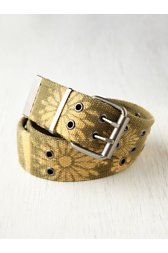 Bleached Military Belt