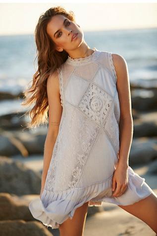 FP One Womens FP ONE Angel Lace Dress