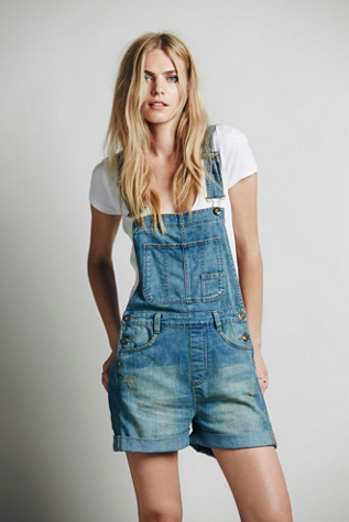 Free People Womens Boyfriend Shortall