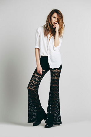 Nightcap Womens Dixie Lace Flares