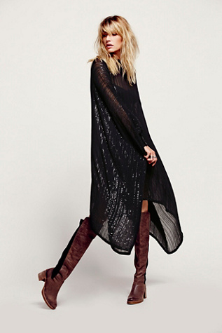 Antik Batik Womens Sequin Sheer Maxi