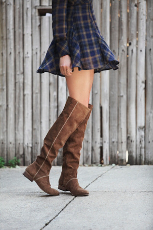 Free People Womens Grandeur Over the Knee Boot