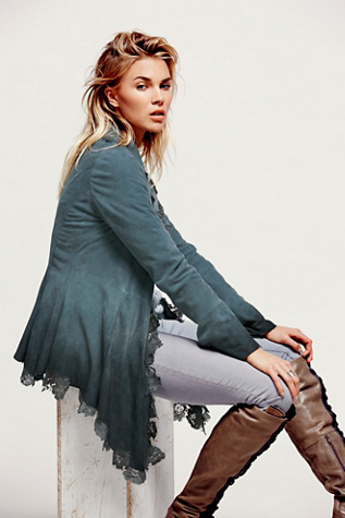 Free People Womens Infinite Arms Corset Jacket $1,000.00 AT vintagedancer.com