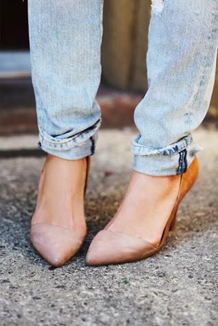 Jeffery Campbell + Free People Womens Meridian Heel