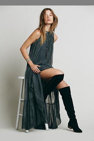 Free People Womens Hera Maxi Dress