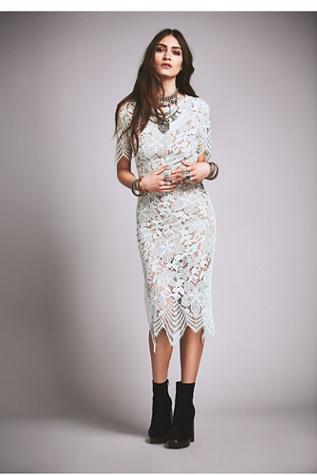 For Love & Lemons Womens Luna Maxi Dress