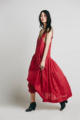 Mes Demoiselles Paris Womens Nymphe Maxi Dress $149.95 AT vintagedancer.com
