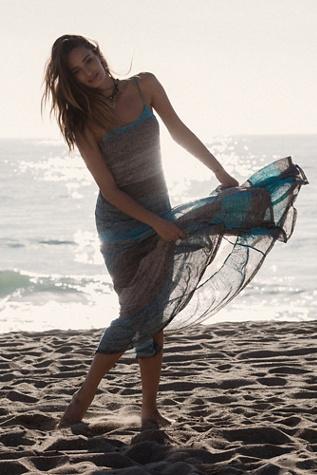 FP Beach Womens Lotus Maxi Dress
