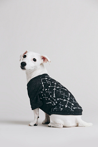 Free People Pet Project Womens Arrow Print Doggie Tee