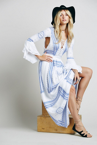 The Jetset Diaries Womens Santorini Dress