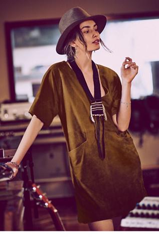 Free People Womens Estella Mod Shift Dress