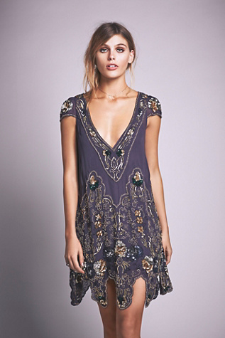 Free People Womens Magic Garden Party Dress $500.00 AT vintagedancer.com
