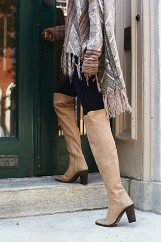 Free People Womens Lachlan Over The Knee Boot