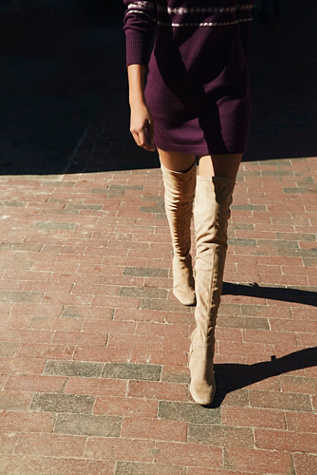 Womens PARKWAY THIGH HIGH BOOT