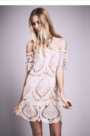 Free People Womens Sagrada Dress