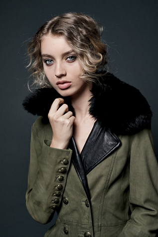 Womens MILITARY TRENCH