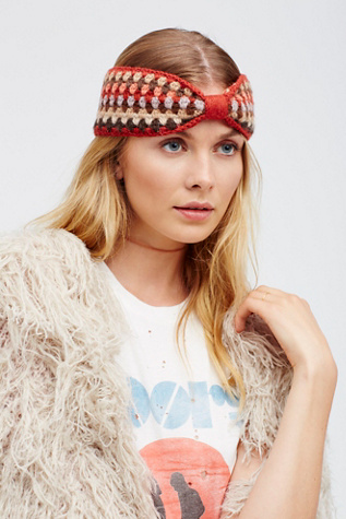 Emilime for Free People Womens BELLA CROCHET HEADBAND at Free People