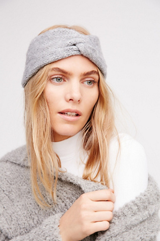 Womens KNOTTY KNIT HEADBAND at Free People